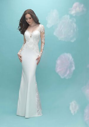 Allure Bridals 9453 Sheath Wedding Dress