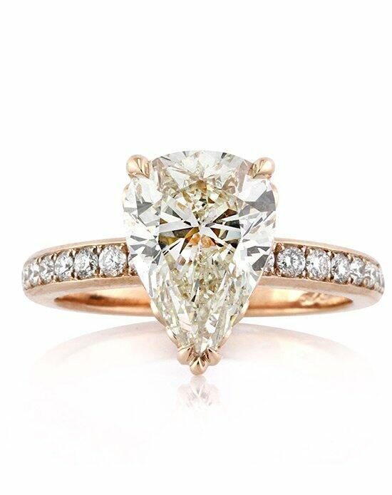 Mark Broumand 3.52ct Pear Shaped Diamond Engagement Ring Engagement Ring photo
