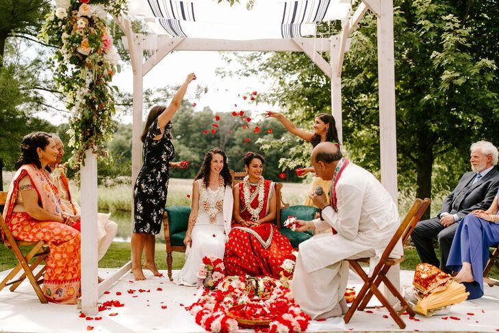 Wedding Traditions at Misty Farm in Ann Arbor, Michigan
