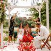 A Colorful Jewish-Jain Fusion Wedding at Misty Farm in Ann Arbor, Michigan