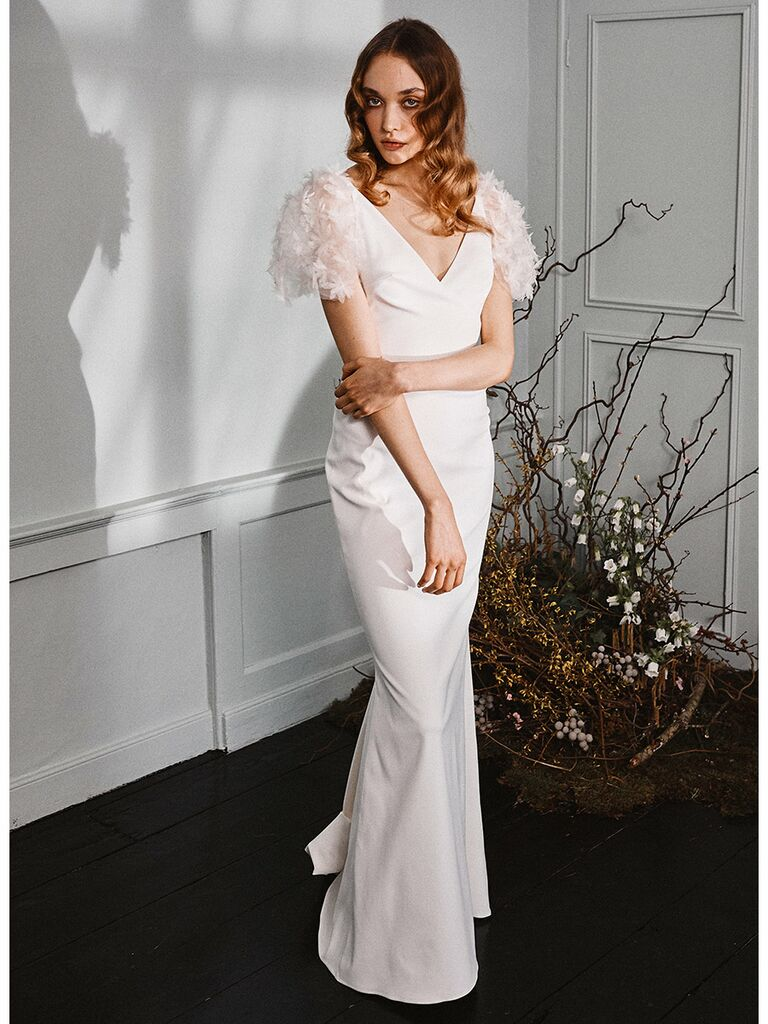 Vintage Fit-and-Flare Wedding Dresses