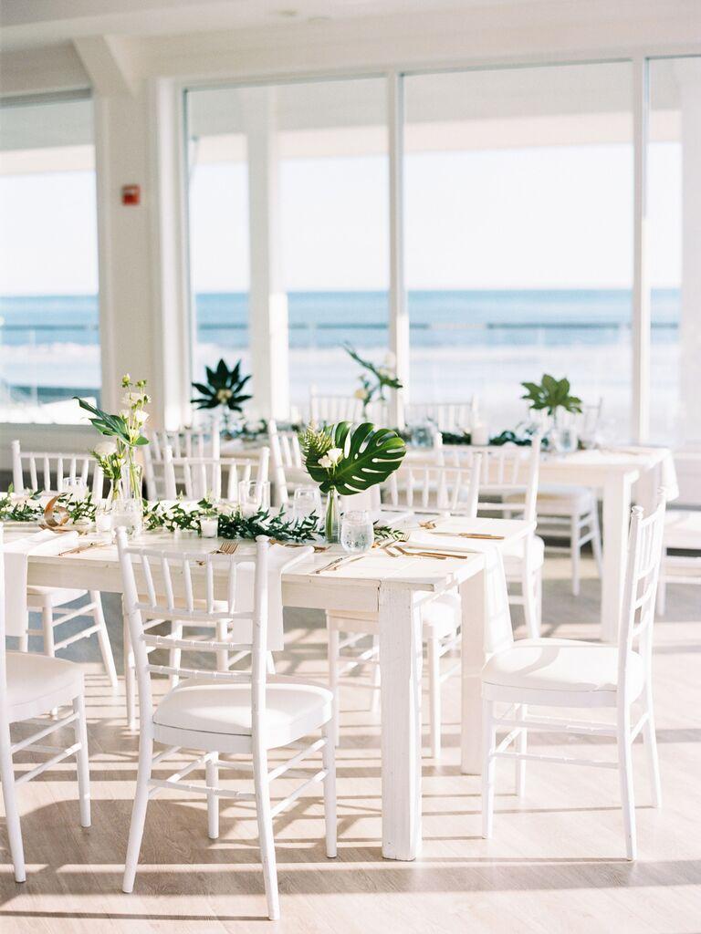Wedding Centerpieces Simple Tropical