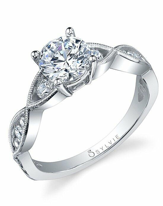 Sylvie Collection S1014 Engagement Ring photo