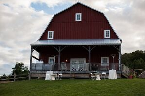The Garvey Family Wedding Barn Reception in Williamsburg, Michigan