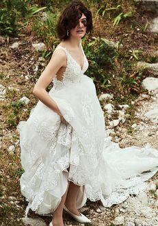 Justin Alexander Bianca Ball Gown Wedding Dress