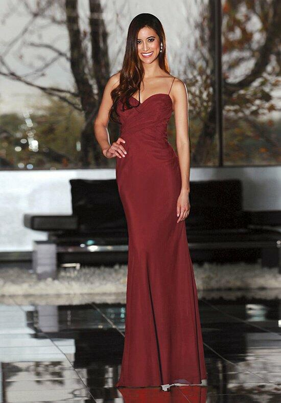 Davinci bridesmaids 60142 bridesmaid dress the knot for Da vinci red wedding dress