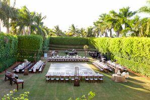 Elegant Hyatt Regency Coconut Point Resort Outdoor Reception