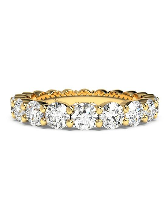 Ritani Women's Slim Round-Cut Diamond Prong-Set Eternity Band - in 18kt Yellow Gold - (2.20 CTW) Wedding Ring photo
