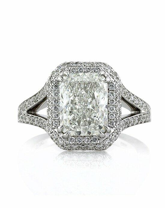 Mark Broumand 3.91ct Radiant Cut Diamond Engagement Ring Engagement Ring photo