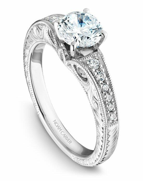 Noam Carver B050-01WS-100A Engagement Ring photo