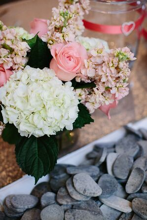Hydrangea and Rose Floral Decor