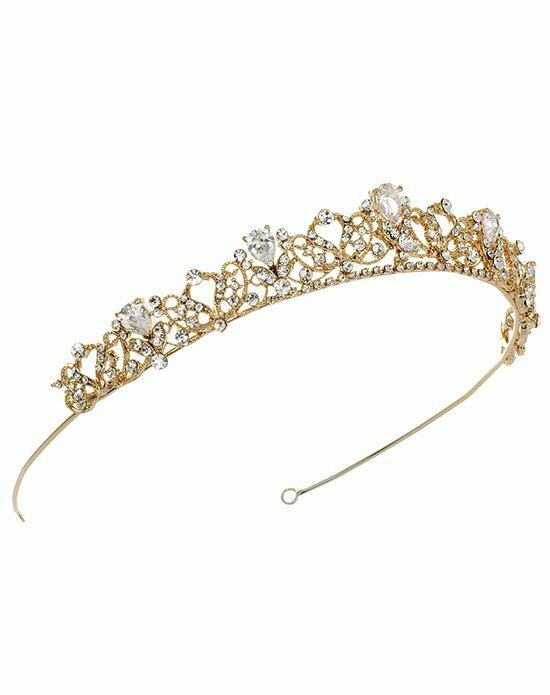 USABride Petite Swirling Tiara TI-3174-G Wedding Tiaras photo