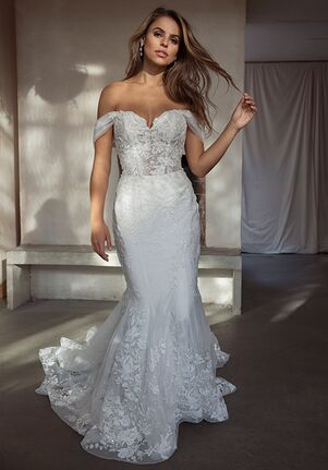 Louvienne Valentina Mermaid Wedding Dress