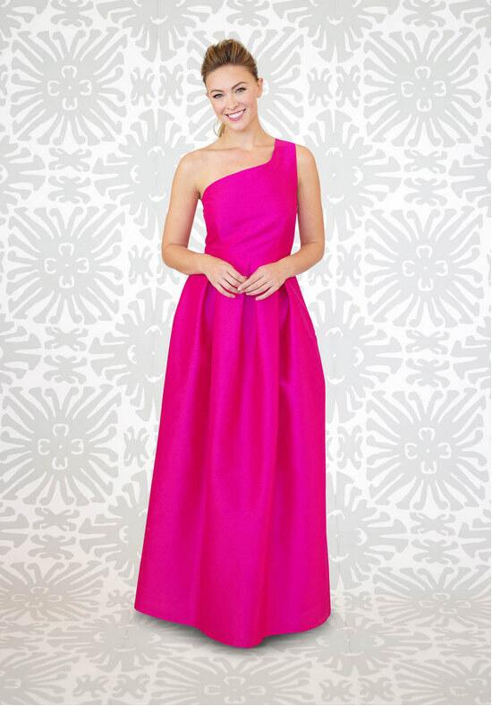 LulaKate Cason Long Bridesmaid Dress photo