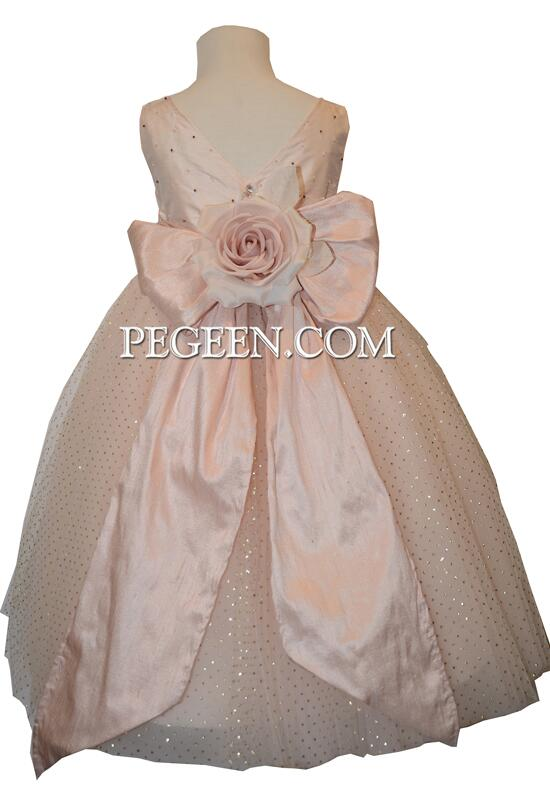 Pegeen.com  695 Flower Girl Dress photo