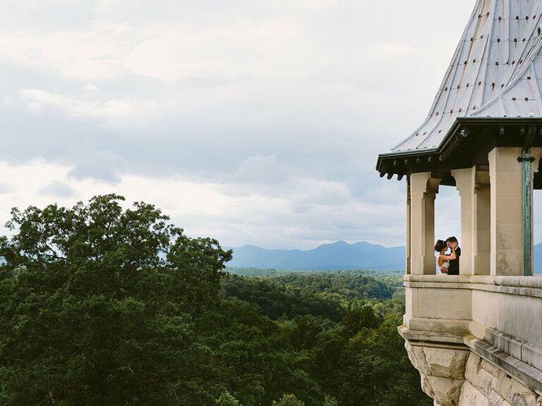 Castle wedding venue in Asheville, North Carolina