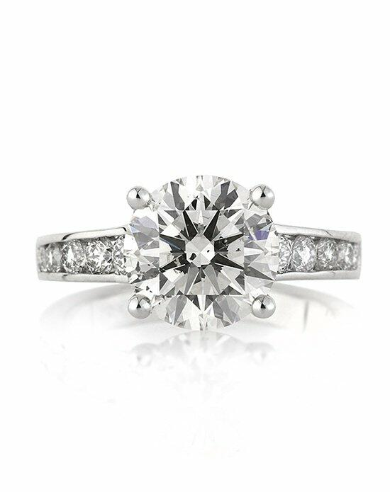 Mark Broumand 4.47ct Round Brilliant Cut Diamond Engagement Ring Engagement Ring photo
