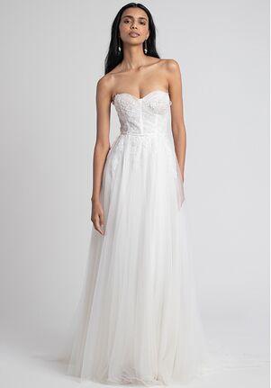 Jenny by Jenny Yoo Jessilyn with Applique A-Line Wedding Dress