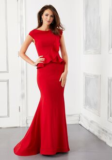 MGNY 72307 Blue,Red Mother Of The Bride Dress