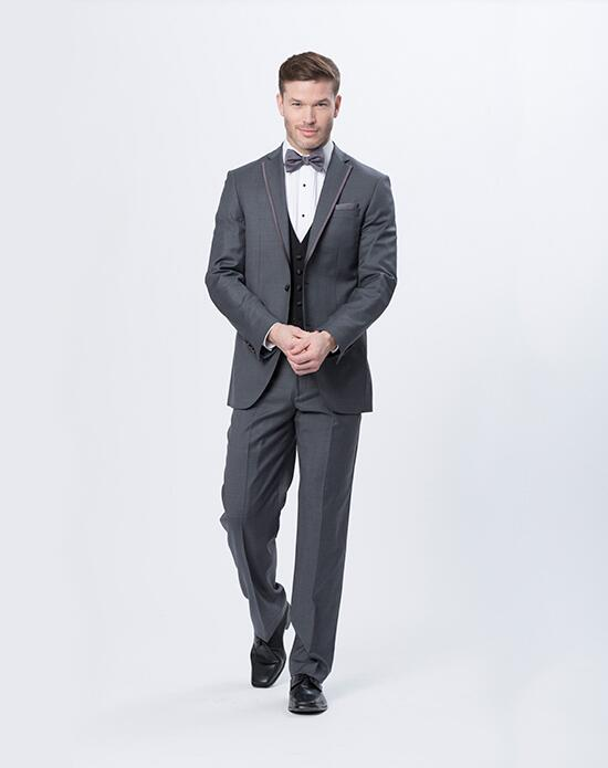 Justin Alexander Men Justin Alexander Storm Gray Tux Wedding Tuxedos + Suit photo