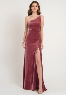 Jenny Yoo Collection (Maids) Cybill One Shoulder Bridesmaid Dress