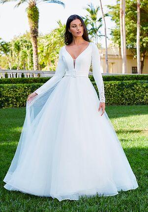 Adrianna Papell Platinum 31199 Ball Gown Wedding Dress