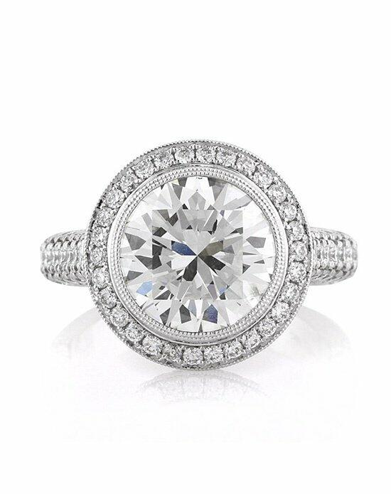 Mark Broumand 6.28ct Round Brilliant Cut Diamond Engagement Ring Engagement Ring photo