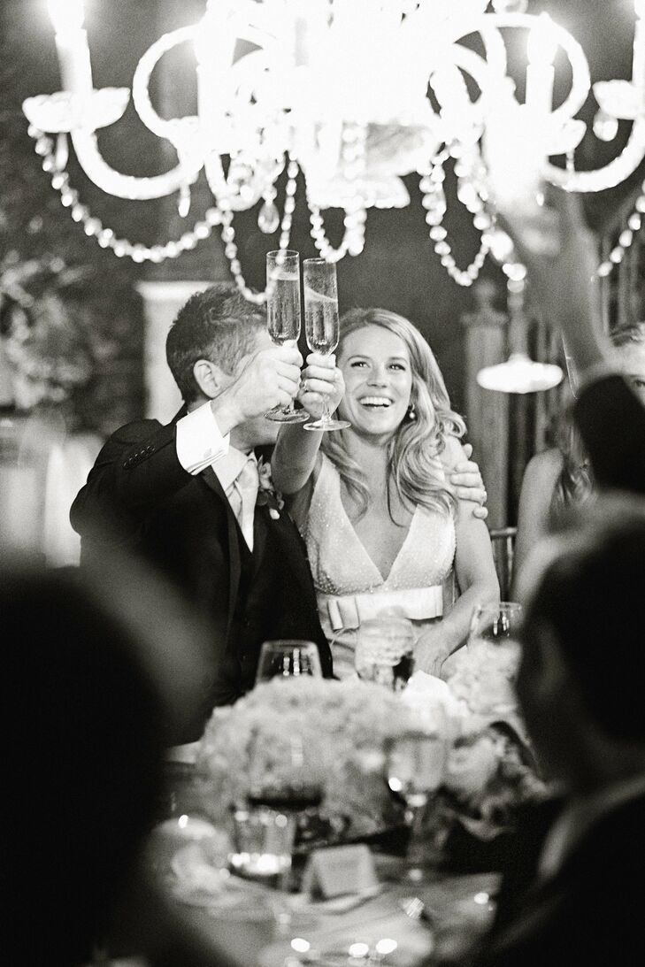 With the help of their Hawaii-based planner, Mackenzie and Tim put together an elegant, French vineyard-inspired celebration with a color palette of w