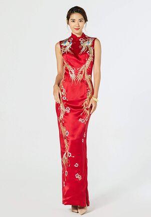 East Meets Dress Phoebe Bespoke Dress Sheath Wedding Dress