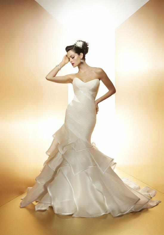 Matthew Christopher Tiger Lily Wedding Dress photo