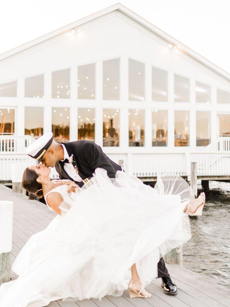 Wedding venue in Pasadena, Maryland.
