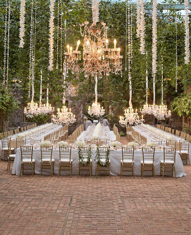 Whimsical wedding reception | Aaron Delesie Photography | Blog.theknot.com