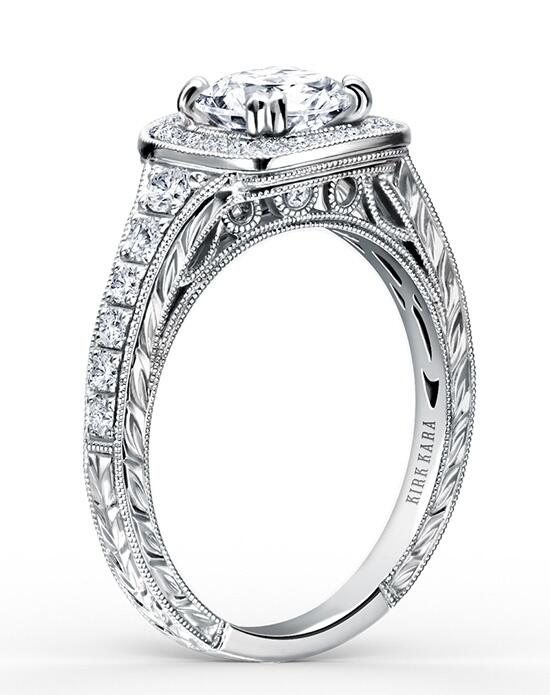 Kirk Kara Carmella Collection K1170DC-R Engagement Ring photo