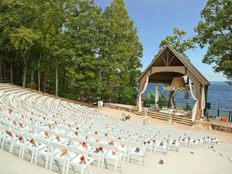 Wedding venue in Buford, Georgia.