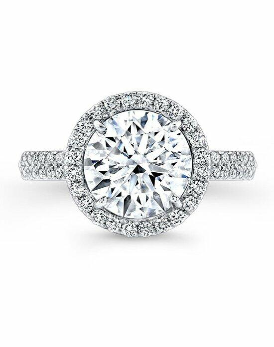 Forevermark Diamond Engagement Rings CENTER OF MY UNIVERSE™ HALO DOUBLE SHANK RING/FM27026 Engagement Ring photo