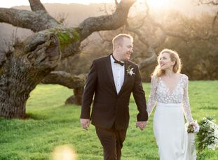 """""""The art deco theme was really inspired by my sister, whose background is in art history,"""" Cynthia Kelly says of her wedding to Nick Odlum. """"My mom is"""