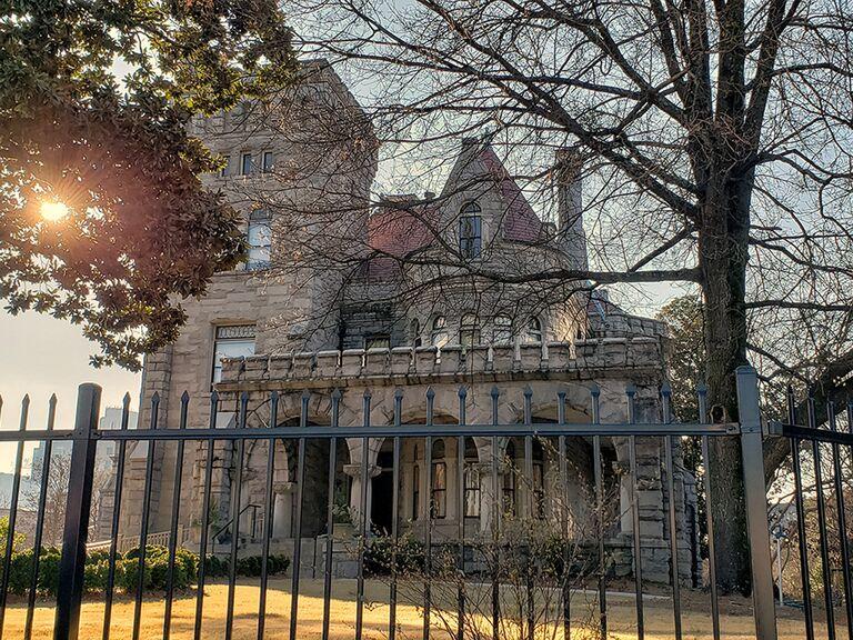 Castle wedding venue in Atlanta, Georgia