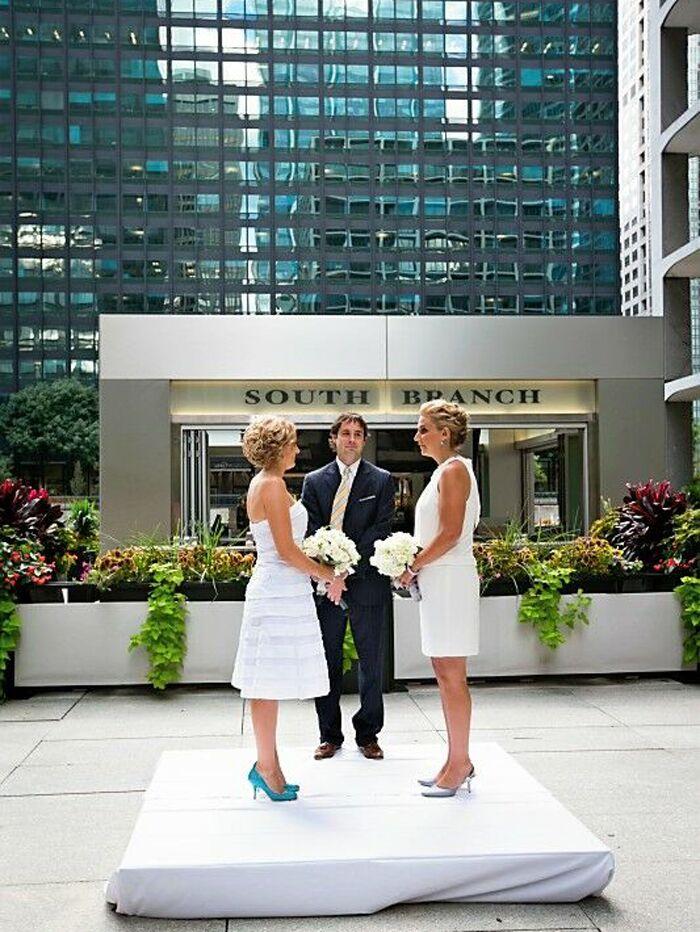 South Branch wedding venue in Chicago, Illinois.