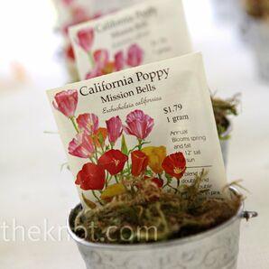 Wildflower Escort Cards