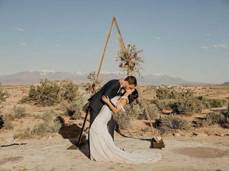 Outdoor Wedding Venues Under Canvas Moab