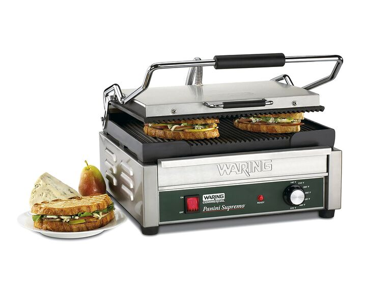 Waring commercial WPG150 compact panini press