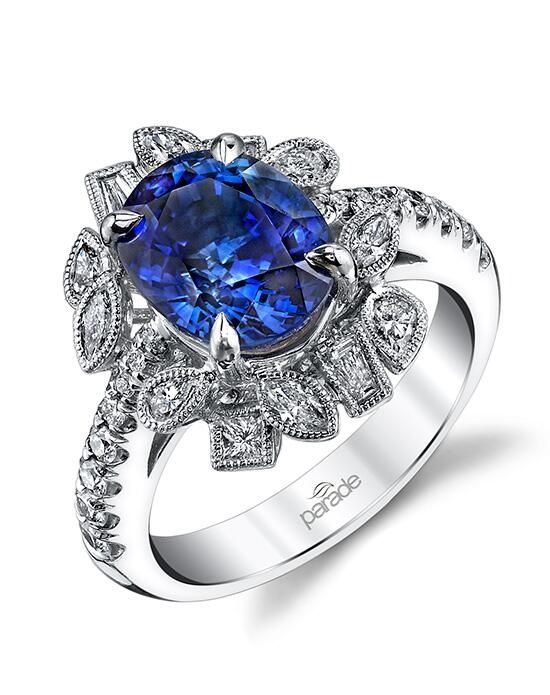 Parade Design Style R2726 from the Parade in Color Collection Engagement Ring photo