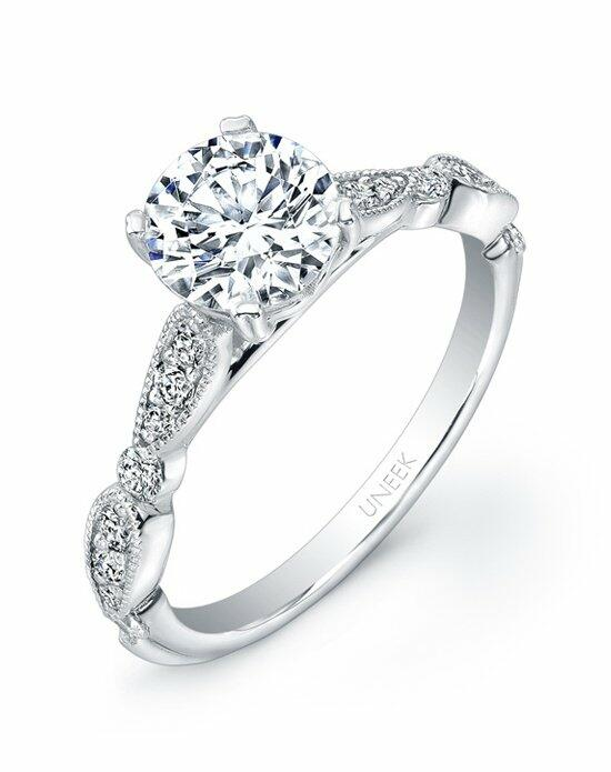 Uneek Fine Jewelry Usm019 6 5rd Engagement Ring The Knot