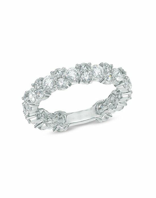 Zales 2 CT T W Diamond Eternity Band in 14K White Gold Wedding Rin
