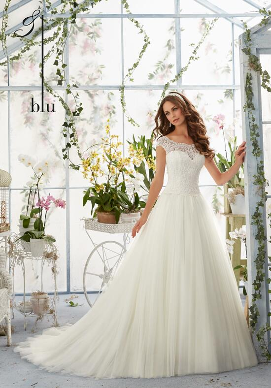 Blu by Madeline Gardner 5403 Wedding Dress photo