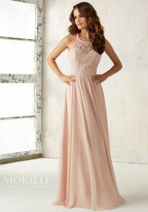 Morilee by Madeline Gardner Bridesmaids 21512 Halter Bridesmaid Dress