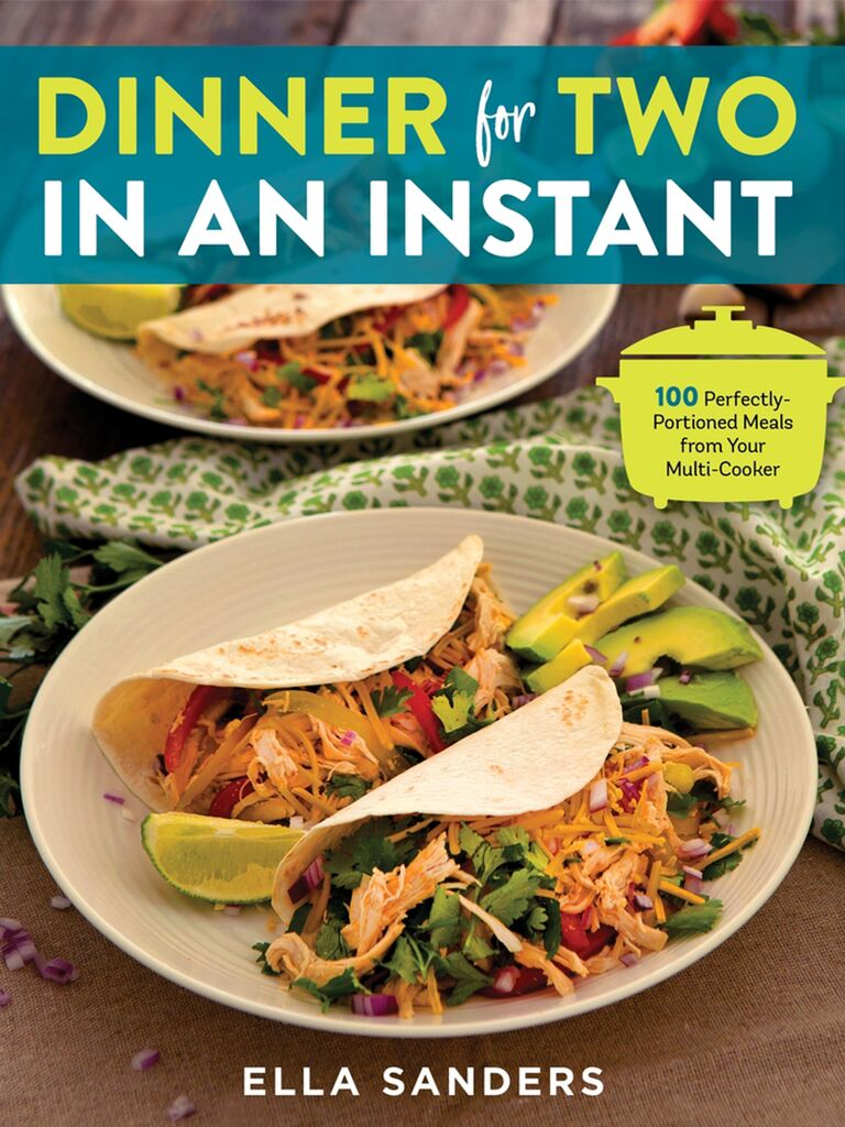 Dinner for two in an Instant cookbook cover