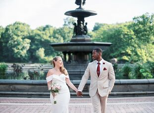 Karen and Didier originally planned to wed in Montauk, New York, however, the COVID-19 pandemic forced the couple to postpone those plans. With their