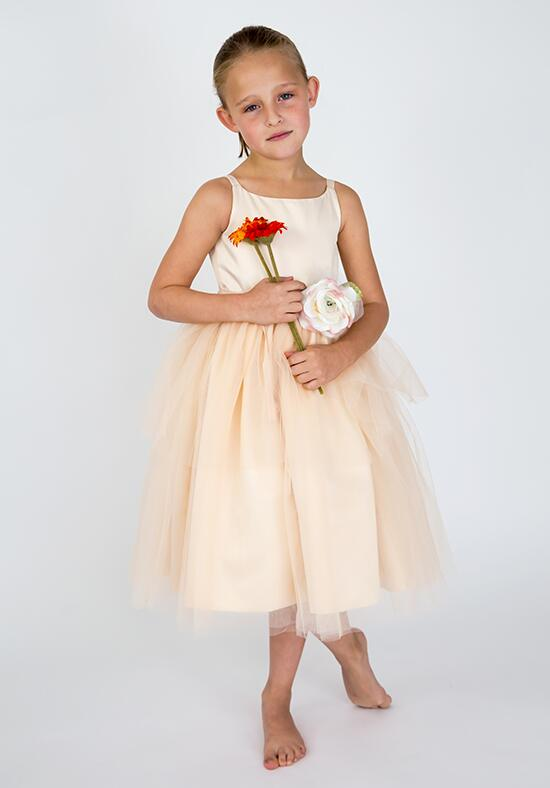 Us Angels Beautiful Color The BallerinaDress-101_Peach Flower Girl Dress photo