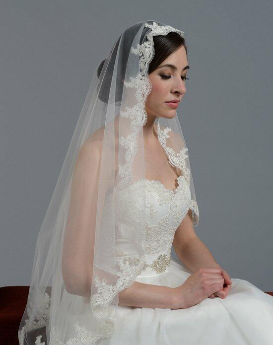 Tulip Bridal Lace Mantilla Veil V027 Wedding Veils photo